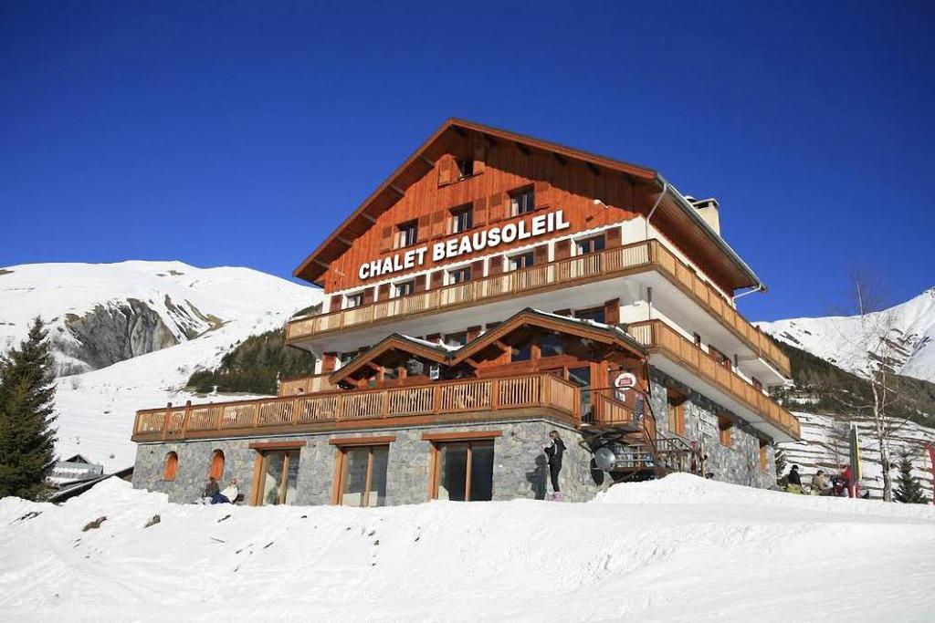Chalet Prestige Beausoleil - Vue Panoramique during the winter