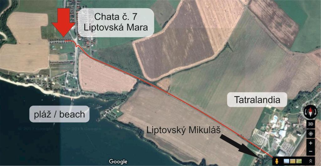 Ubytování Chata Liptovská Mara