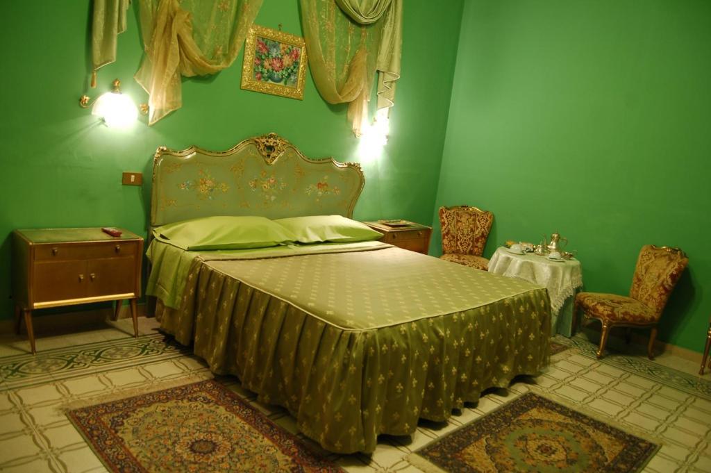 Krevet ili kreveti u jedinici u okviru objekta Hotel Alessandra