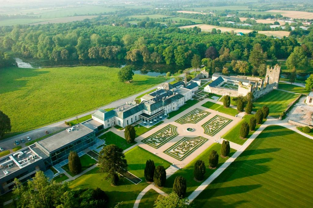 A bird's-eye view of Castlemartyr Resort Hotel
