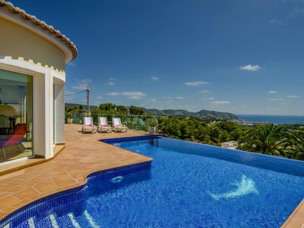 Amazing Villa in Moraira Spain with Infinity Pool (Spanje ...