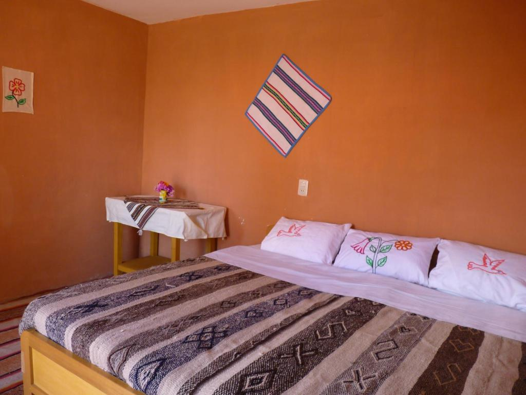 Un ou plusieurs lits dans un hébergement de l'établissement Casa de Eustaquio - Llachon