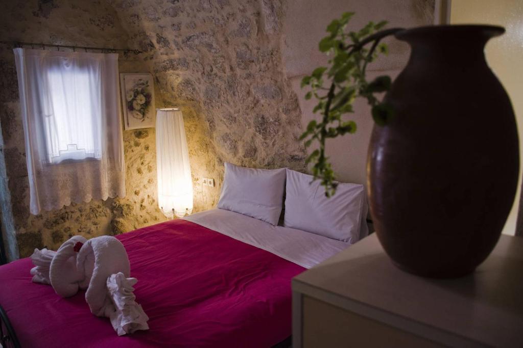Vuode tai vuoteita majoituspaikassa Casa Panstel
