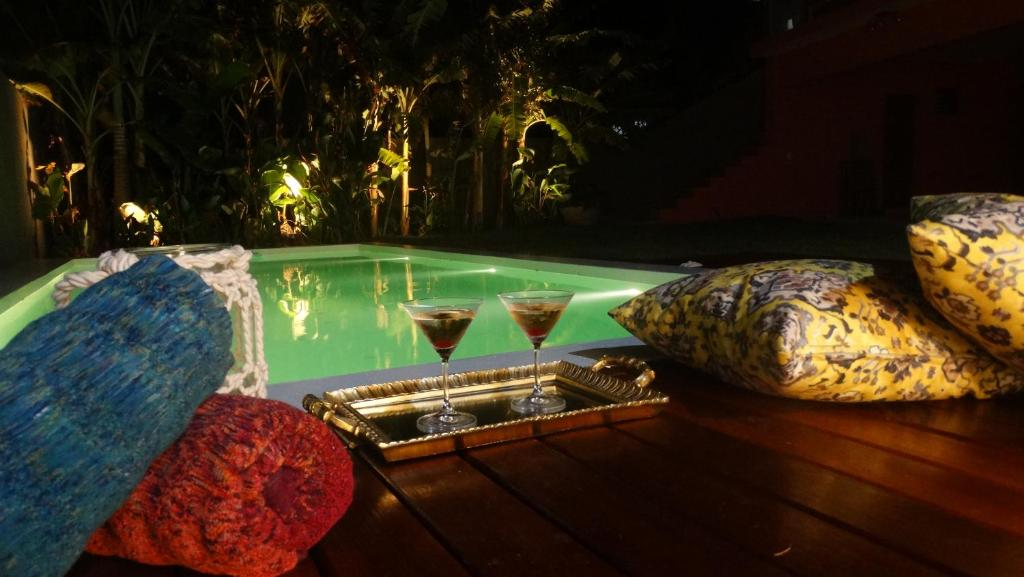 The swimming pool at or close to Castelo Pink Boutique Hotel