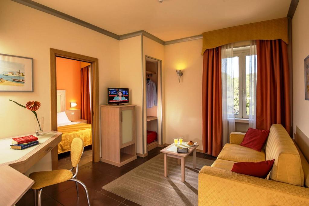 Area soggiorno di Hotel Mediterraneo