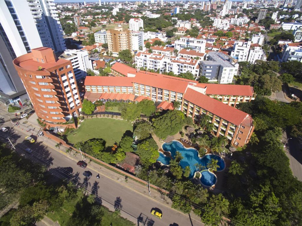 A bird's-eye view of Hotel Camino Real