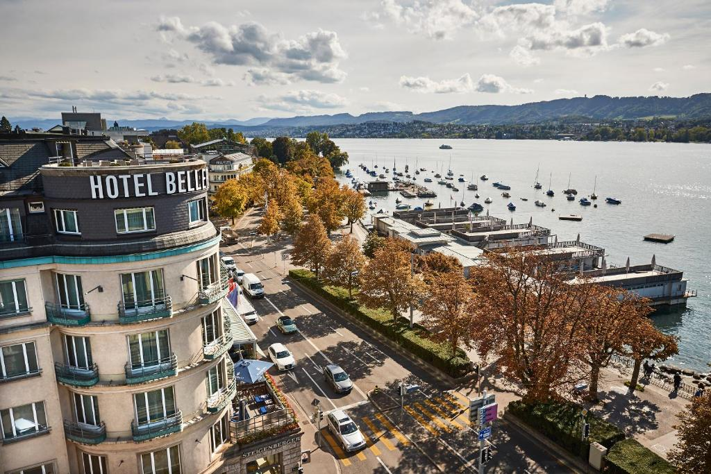 A bird's-eye view of Steigenberger Hotel Bellerive au Lac