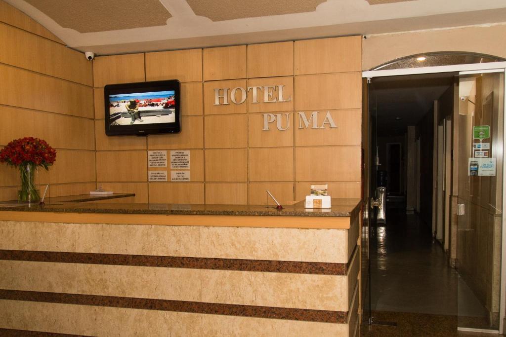 Vestíbul o recepció de Hotel Puma