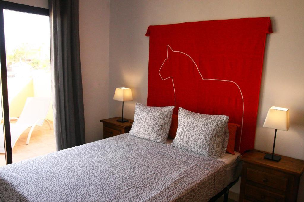 Cama o camas de una habitación en Residencial Villa Marina CC1