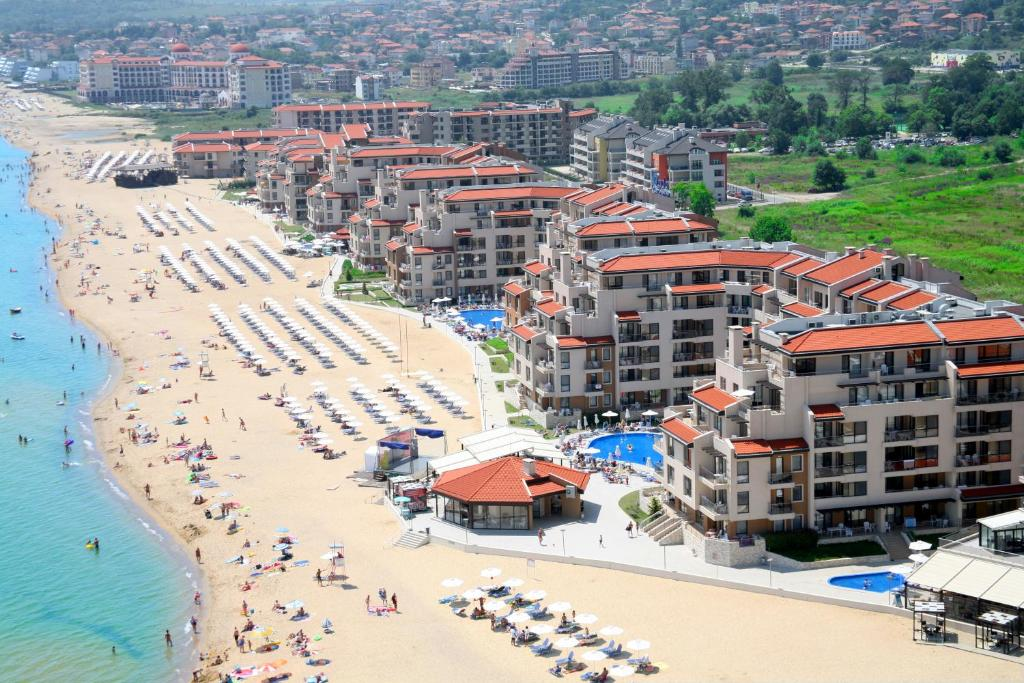 A bird's-eye view of Obzor Beach Resort