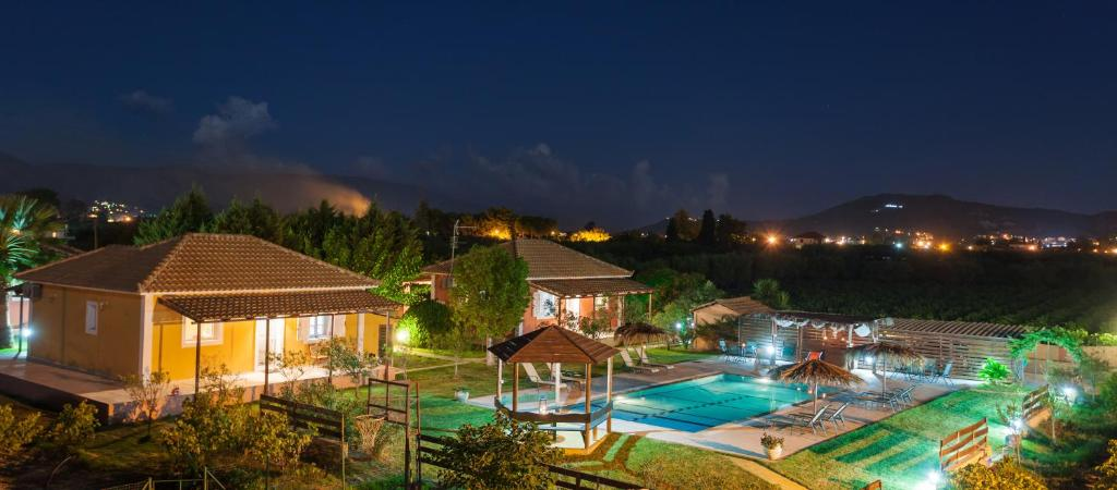 A view of the pool at Augoustinos Villa or nearby