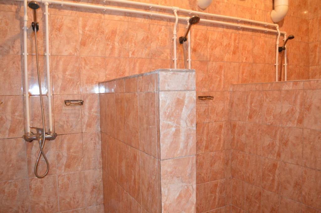 A bathroom at Hostel Tver