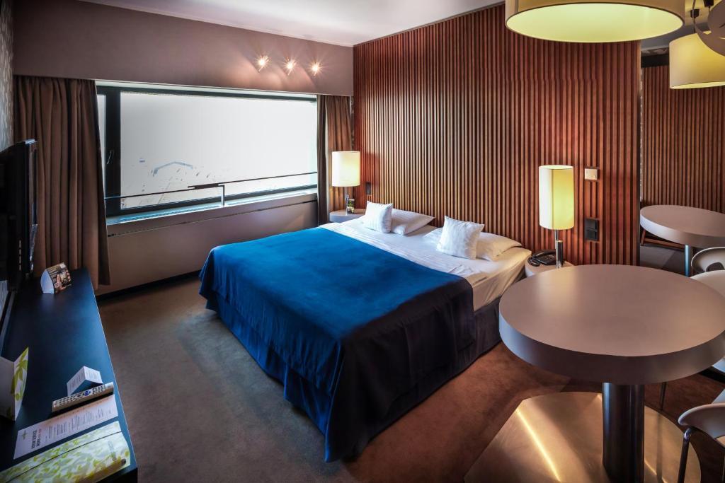 Posteľ alebo postele v izbe v ubytovaní Hotel Yasmin Košice
