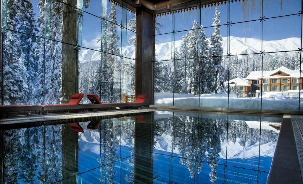 The swimming pool at or near The Khyber Himalayan Resort & Spa