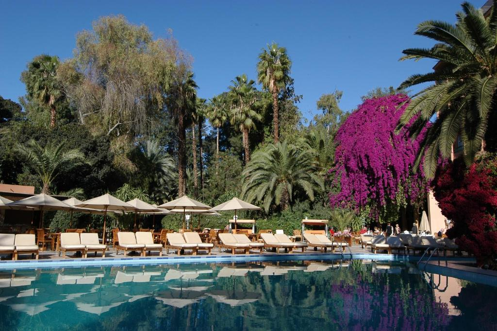 The swimming pool at or near Es Saadi Marrakech Resort - Hotel