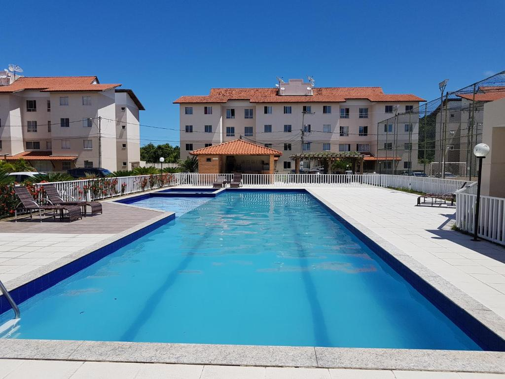 A piscina localizada em Apartamento Modus Vivendi ou nos arredores