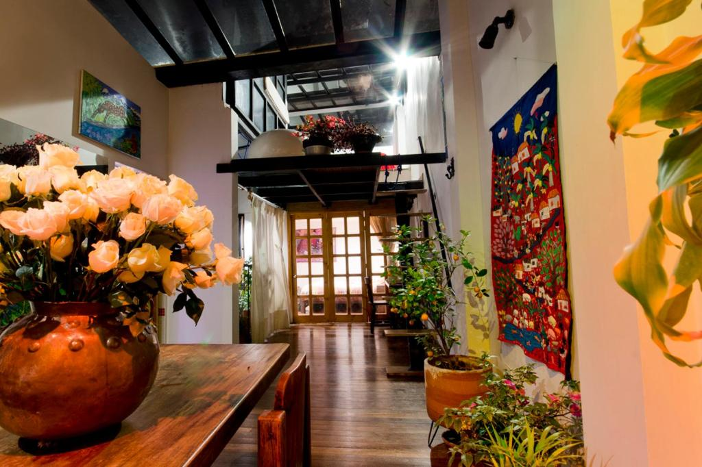 The lobby or reception area at Bed&Breakfast Chorro de Quevedo