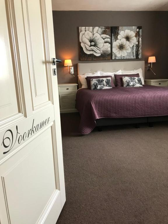 Un ou plusieurs lits dans un hébergement de l'établissement B&B De Koog Texel