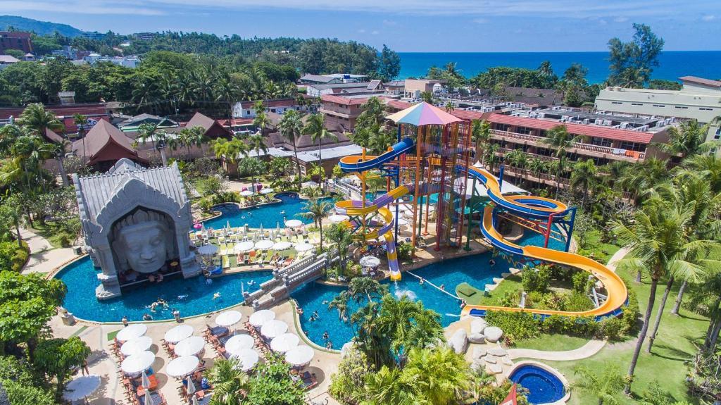 Phuket Orchid Resort and Spa с высоты птичьего полета