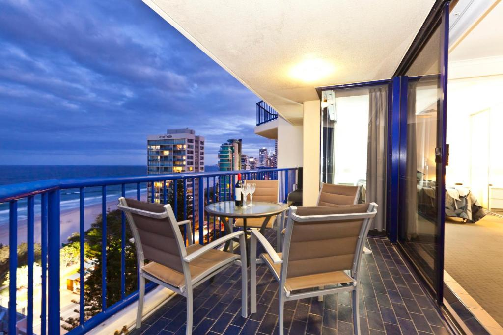 A balcony or terrace at Surf Regency