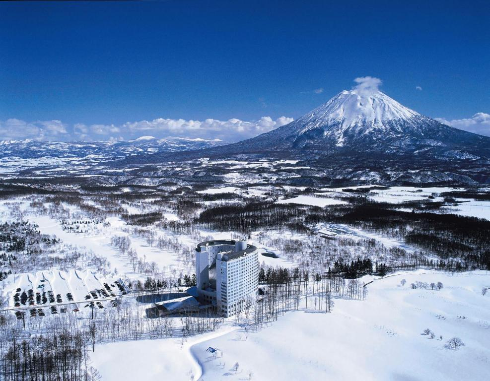 Hilton Niseko Village during the winter