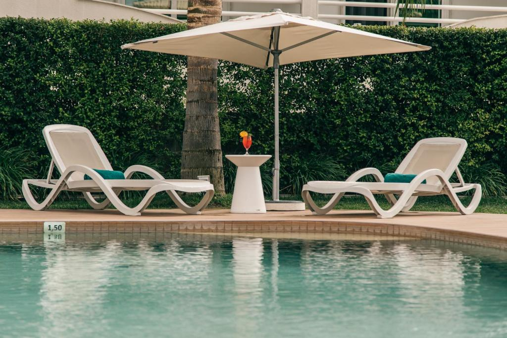 The swimming pool at or near Velamar Boutique Hotel