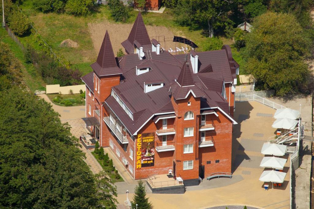 Hotel Guamka с высоты птичьего полета