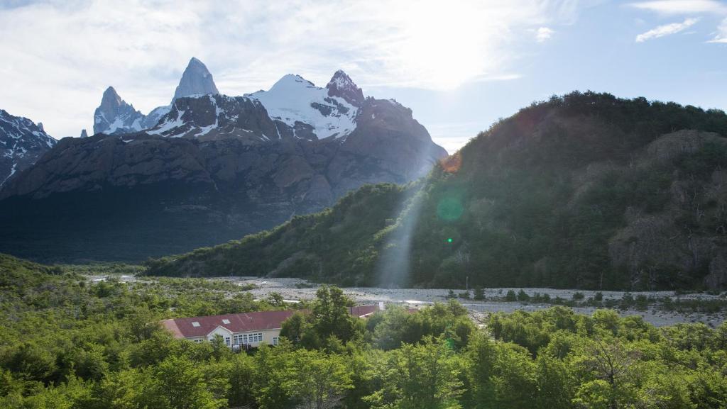 Un paisaje natural cerca de la hostería