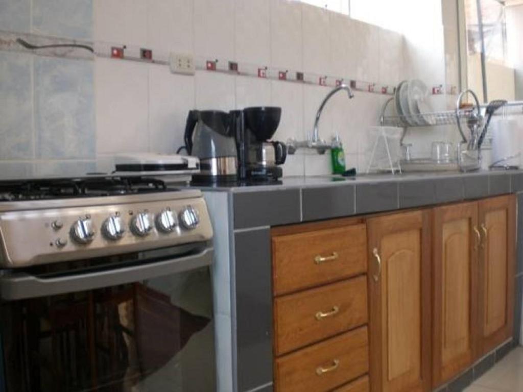 Una cocina o zona de cocina en Arcopata Apartamentos
