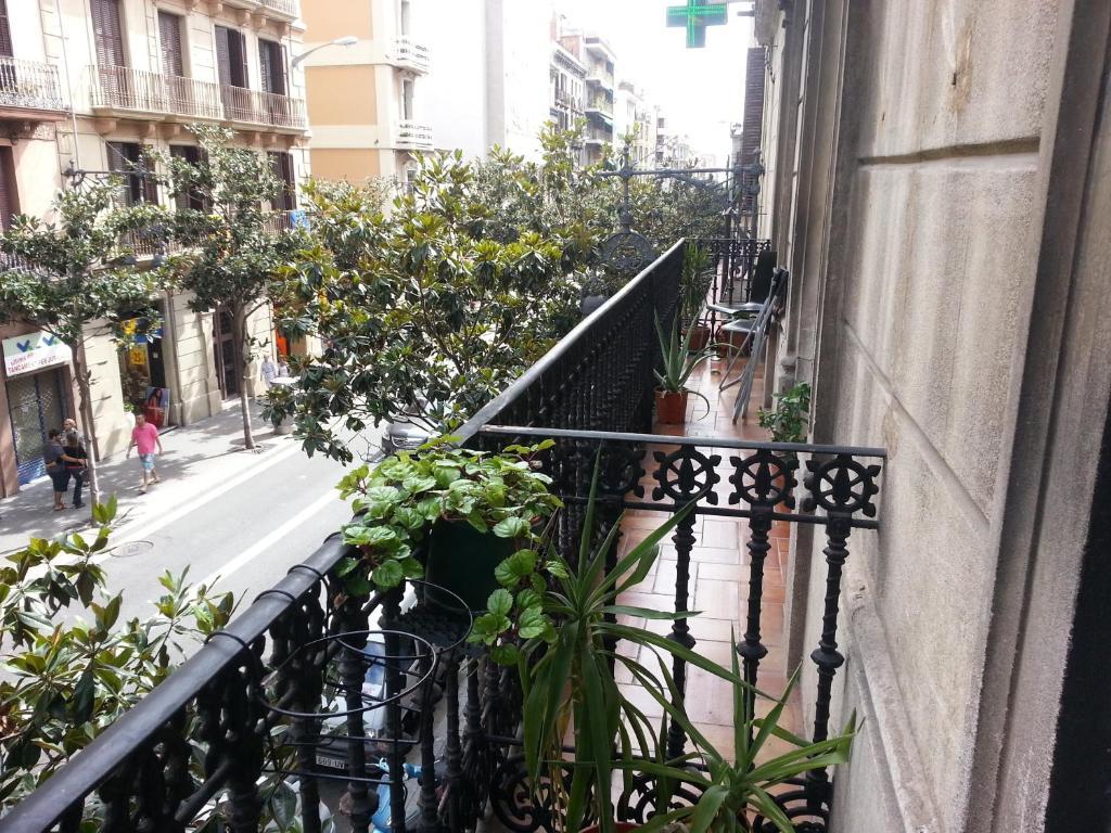 Балкон или терраса в Residencia Universitaria San Marius- Gracia