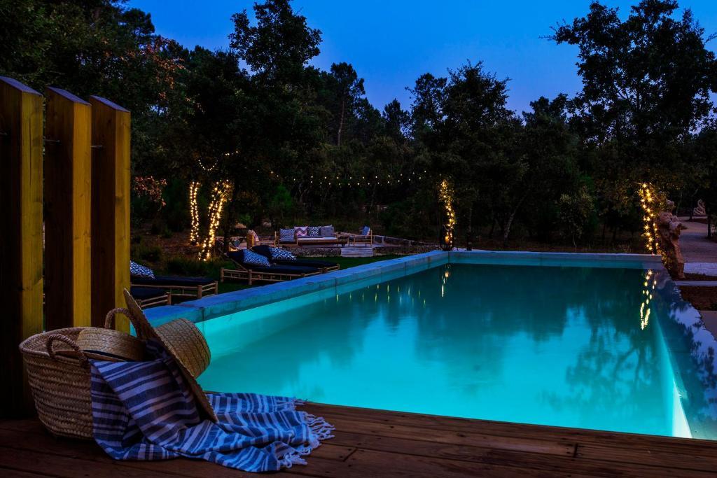 Luz Charming Houses 내부 또는 인근 수영장