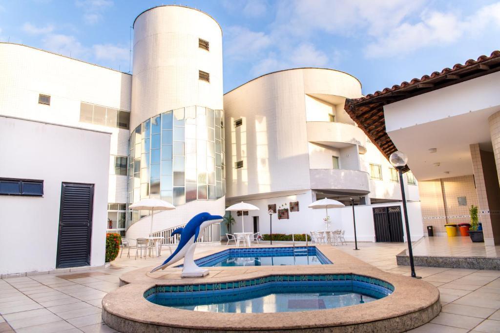 The swimming pool at or near Costa Atlantico Hotel