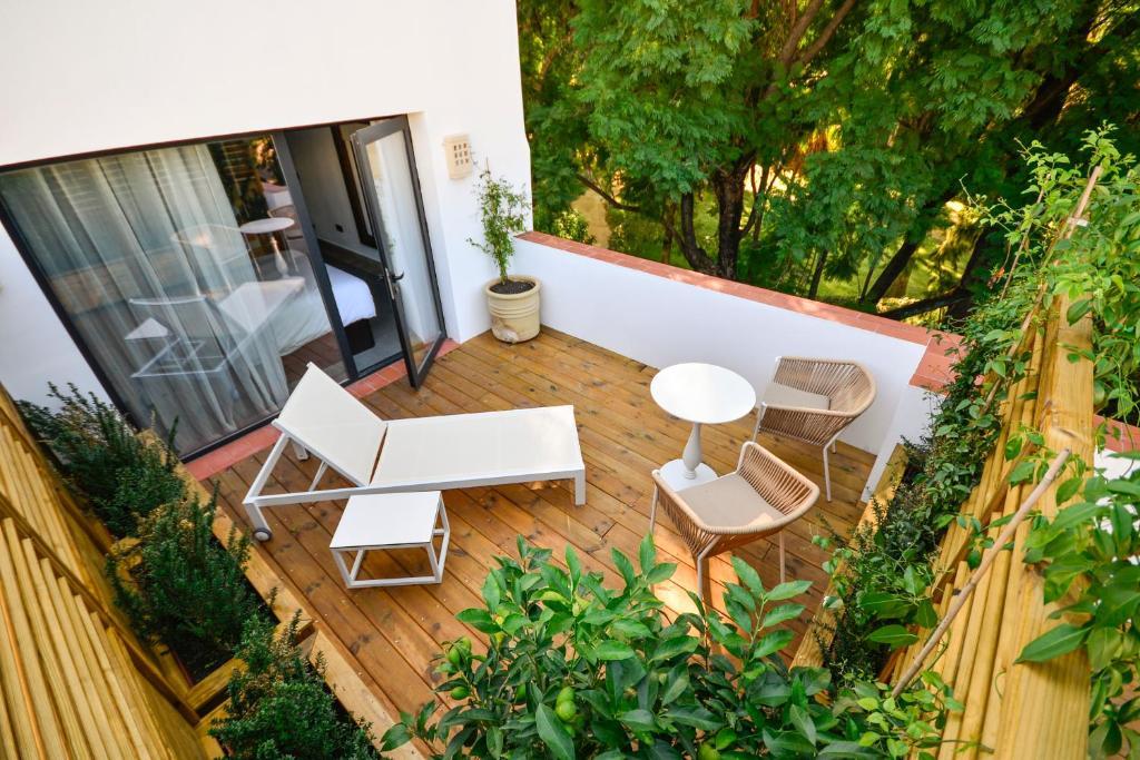 Un balcón o terraza de Legado Alcazar