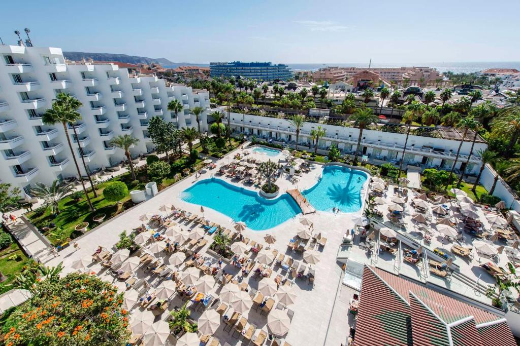 Vista de la piscina de Spring Hotel Vulcano o alrededores