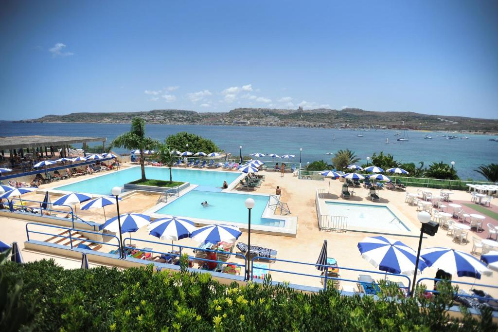 A view of the pool at Mellieha Bay Hotel or nearby