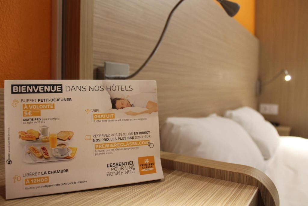 carte hotel premiere classe Hotel Première Classe La Roche Sur Yon, Mouilleron le Captif