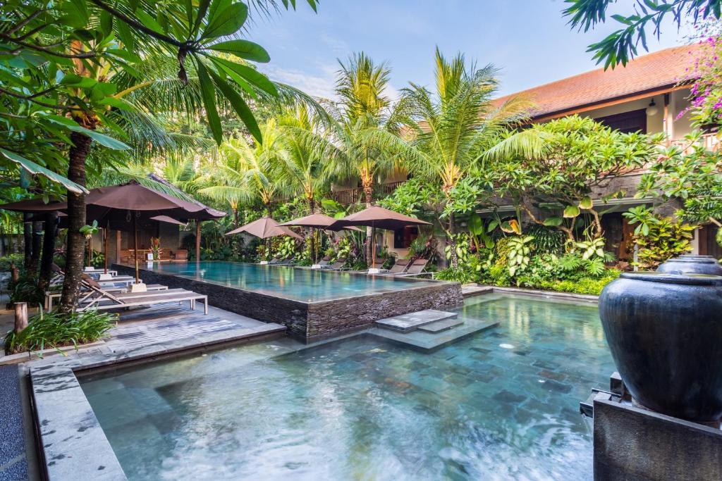 The swimming pool at or close to Kejora Suites