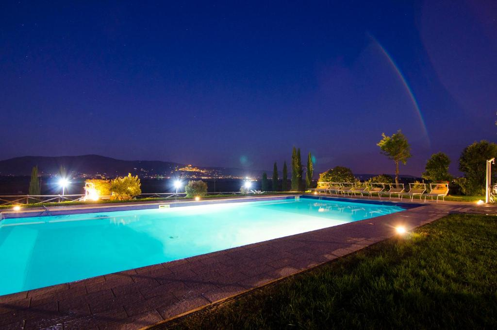 The swimming pool at or near VILLA Fattoria Le Giare Agriturismo
