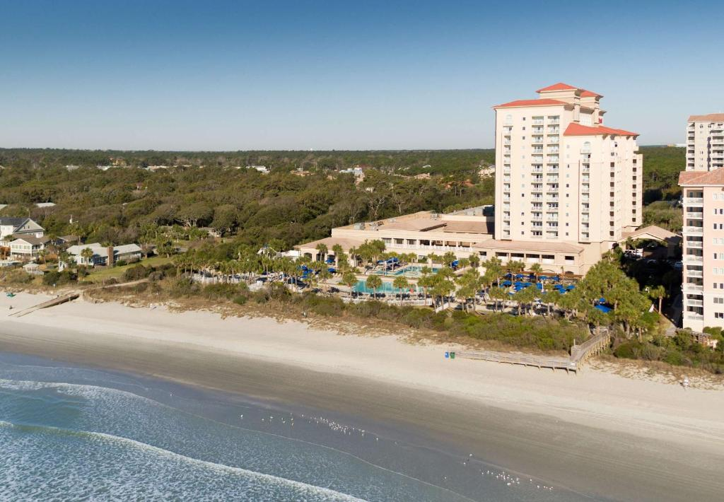 A bird's-eye view of Marriott Myrtle Beach Resort & Spa at Grande Dunes