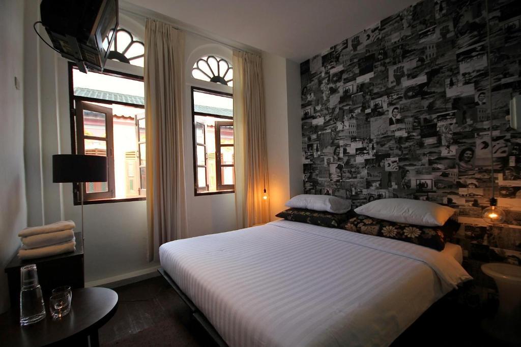 Un ou plusieurs lits dans un hébergement de l'établissement Phuket 346 Guest House