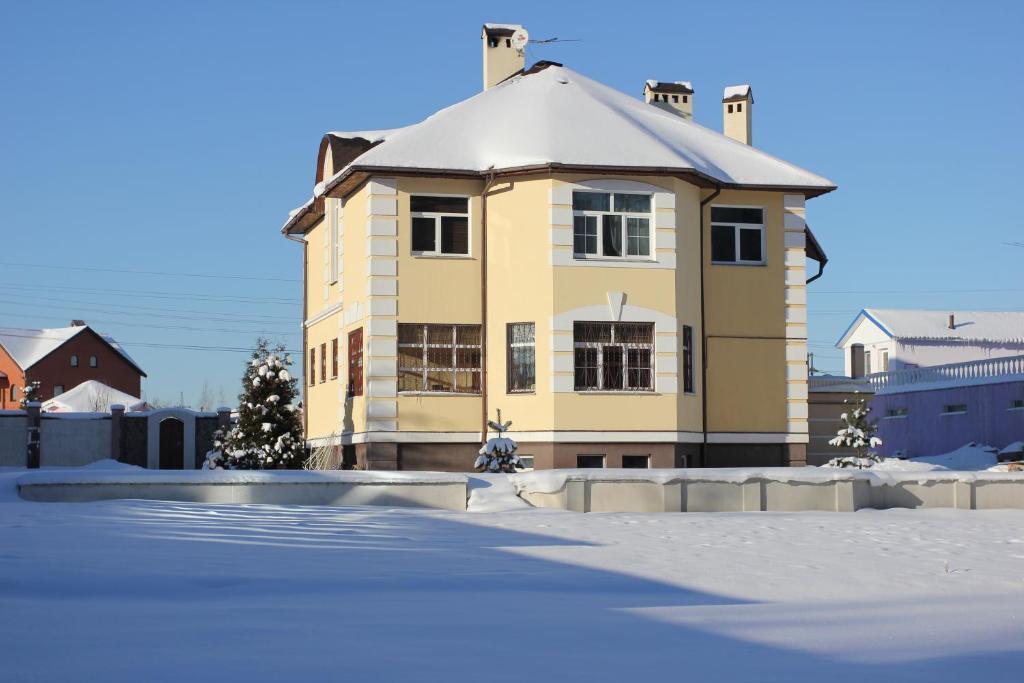 Коттедж в Турово зимой