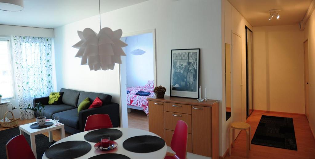 Oleskelutila majoituspaikassa Aliisa's Apartment