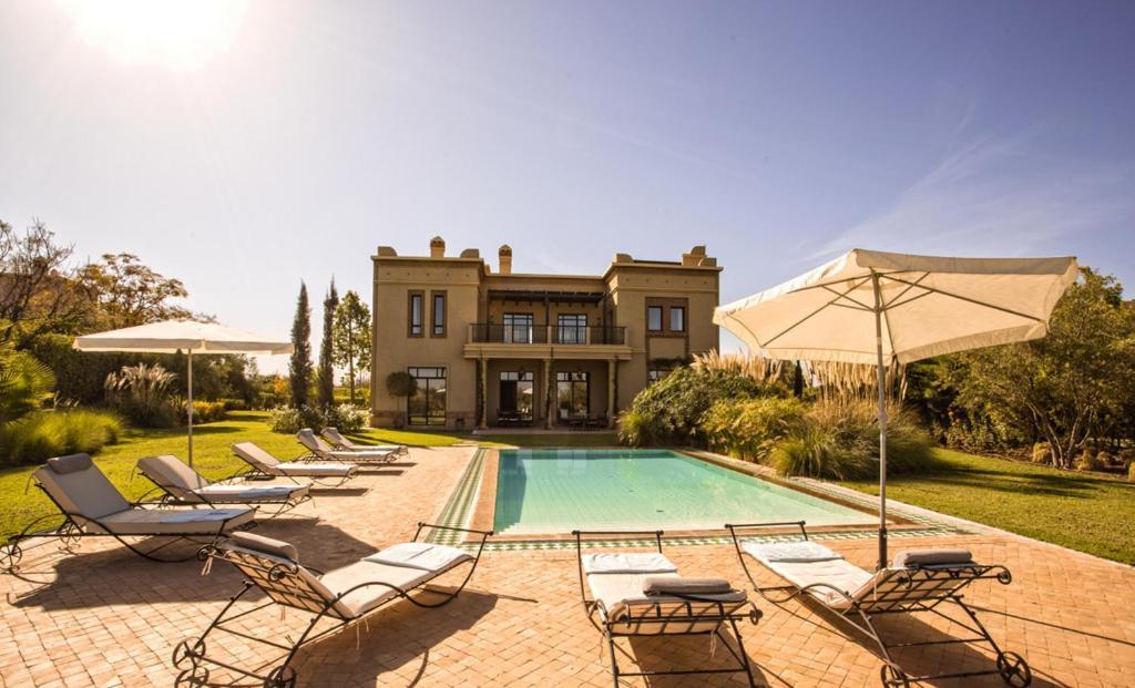Villa De Luxe Avec Piscine Privee Et Golf Marrakesh Morocco