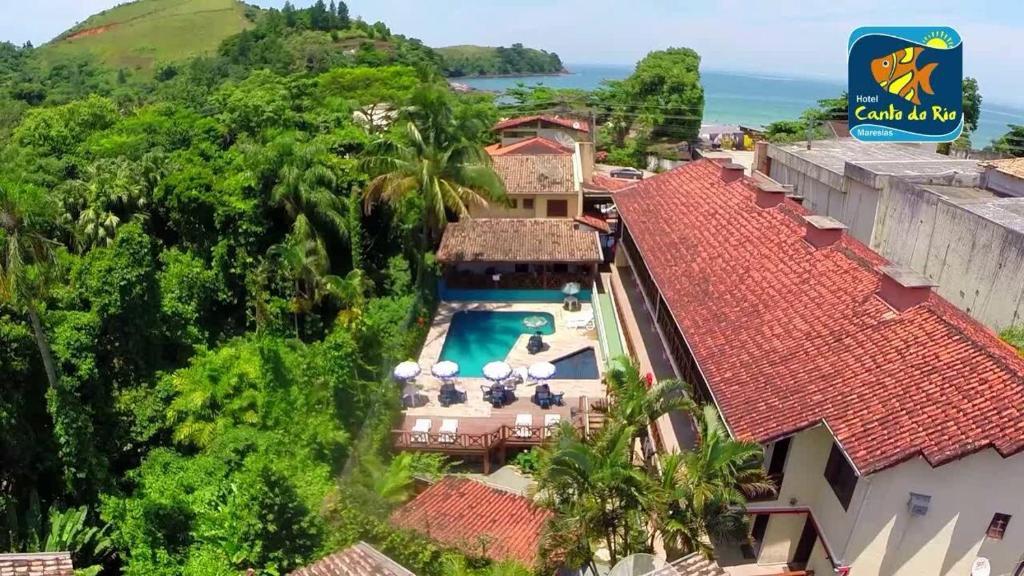 A bird's-eye view of Hotel Canto do Rio Maresias