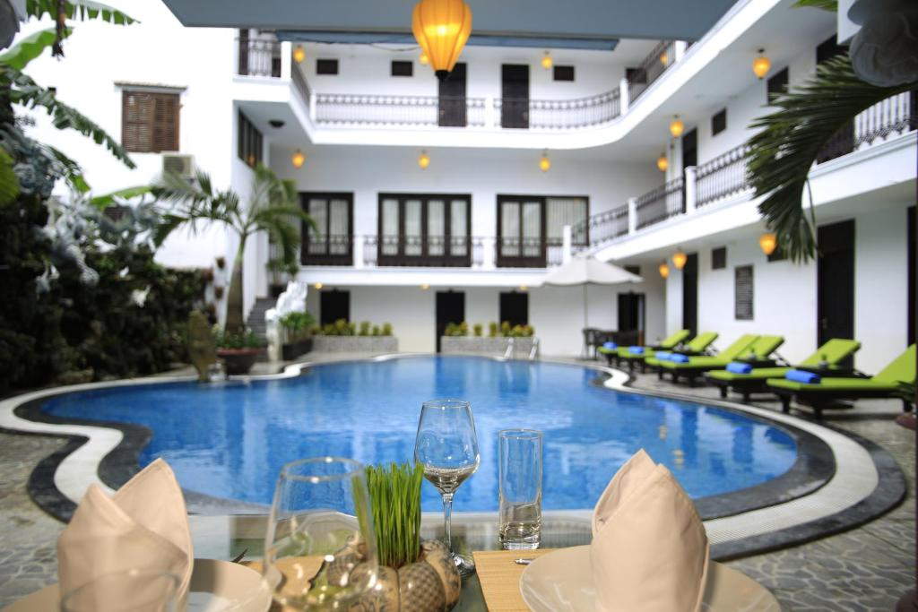 The swimming pool at or near Acacia Heritage Hotel