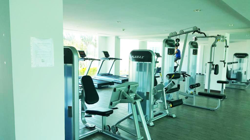 The fitness center and/or fitness facilities at Amazon Residence & Water Park Pattaya