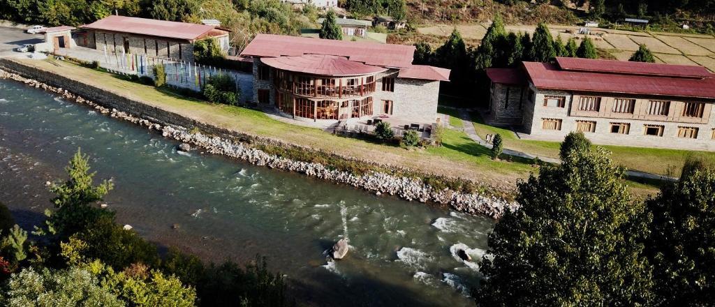 A bird's-eye view of Terma Linca Resort & Spa