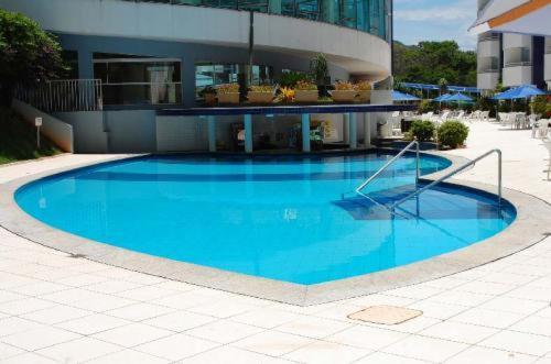 The swimming pool at or near Aguas da Serra Apart