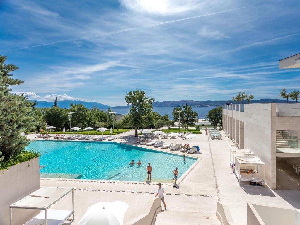 A view of the pool at Wyndham Grand Novi Vinodolski Resort or nearby