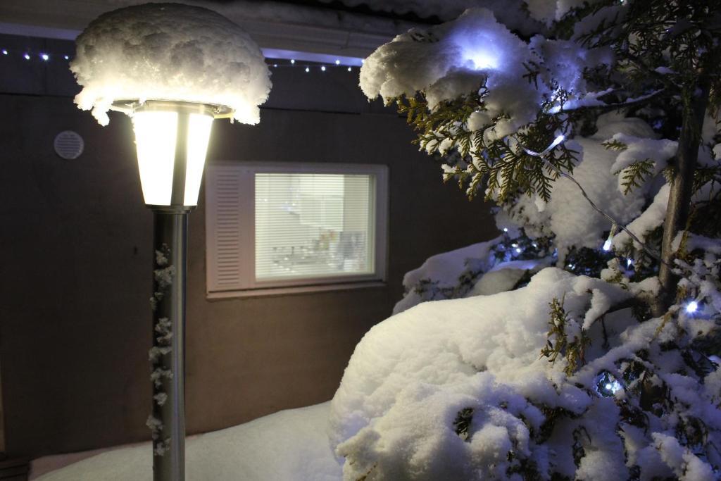 Arctic Jokasa Apartment during the winter